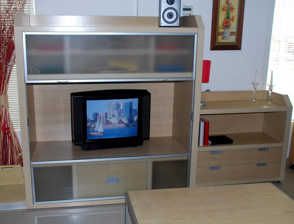 Conjunto en chapa de roble muebles el nogal for Muebles el nogal